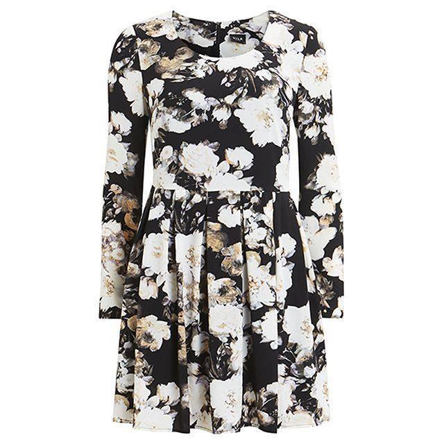 robe à fleurs à manches longues Vila Clothes Taille M Couleur dimpression