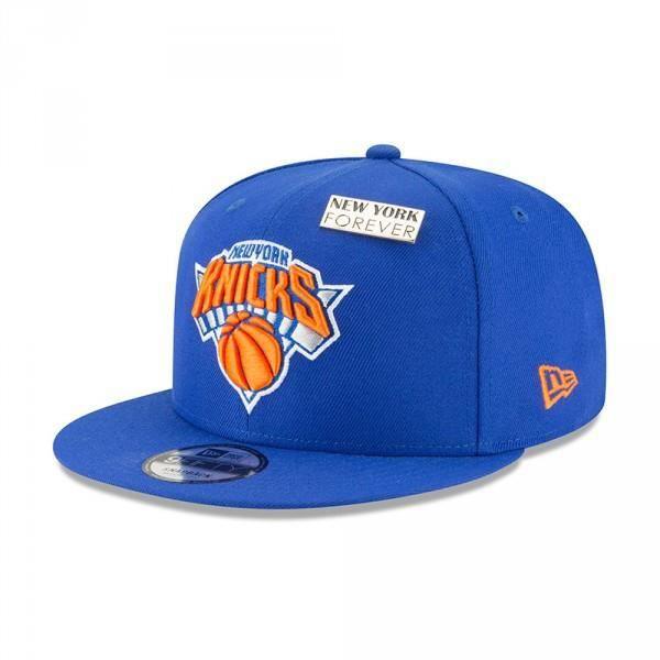 4e4d918ef244a Casquette NBA New York Knicks New Era Draft 2018 Snapback 9fifty Bleu