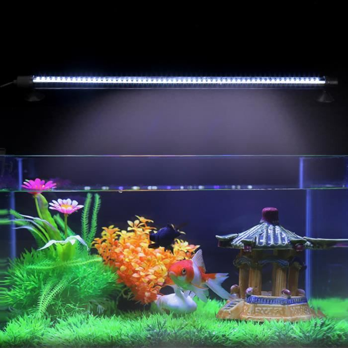 Eu D'aquarium 57leds Lampe Lumière Blanc De 48cm Led Poissons D'éclairage Prise SMpqzVUG