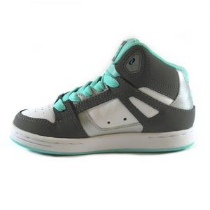 ... BASKET DC Shoes baskets Montantes Fille Turquoise (29 - g ...