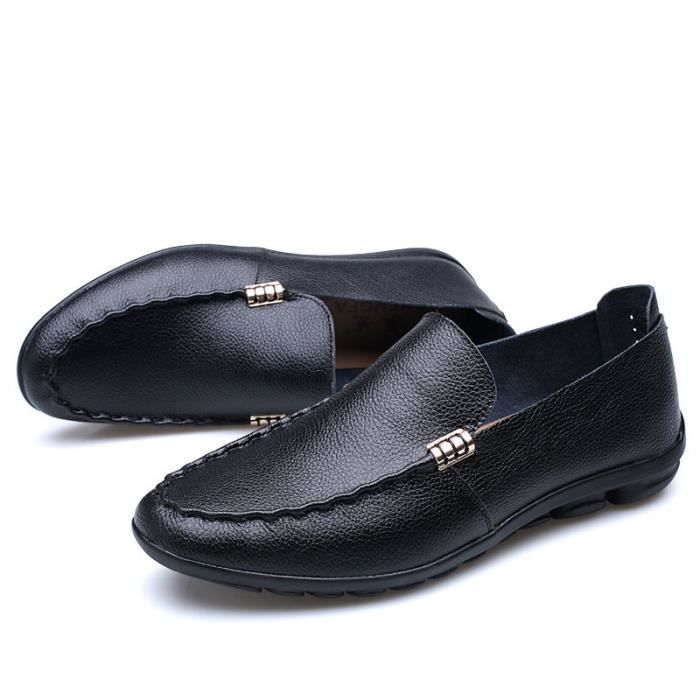 Cuir Homme mocassin chaussures business formel