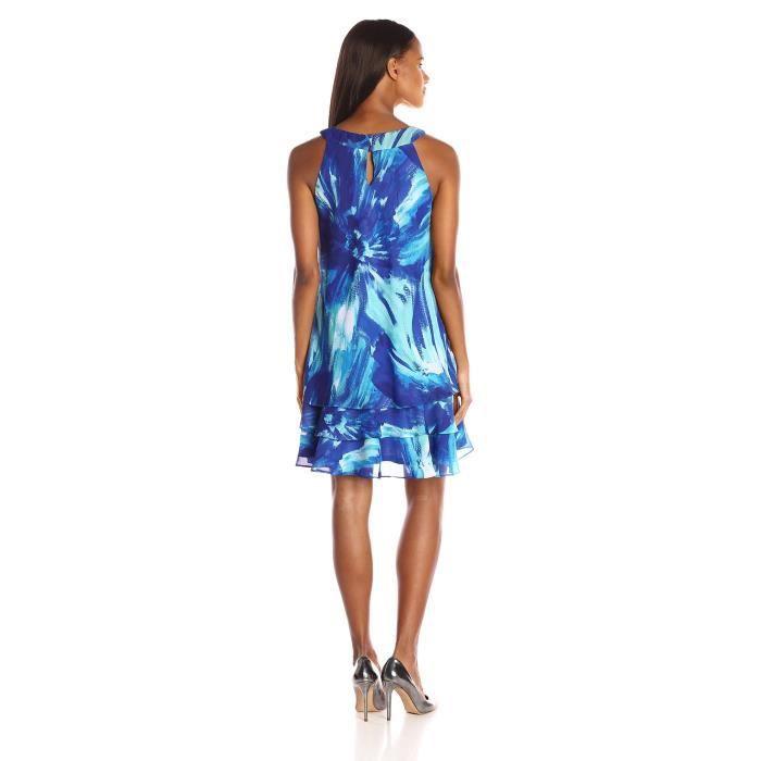 Craze womens manches élégante robe midi trempé moulante de lourlet LOYF1