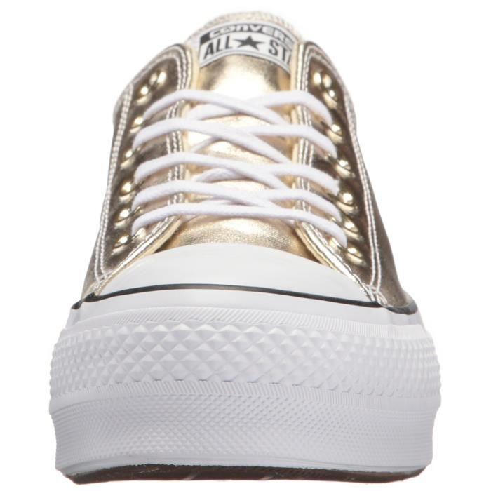 Top Femmes Nnw6d Low 37 Toile Taille Ascenseur Sneaker Converse xIpqg7p