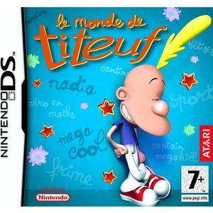 JEU DS - DSI LE MONDE DE TITEUF DS/ JEU CONSOLE NINTENDO DS
