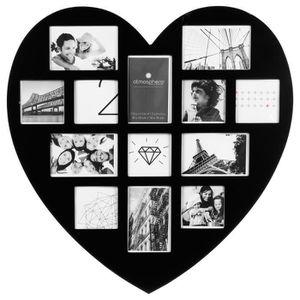 cadre photo en forme de coeur achat vente cadre photo. Black Bedroom Furniture Sets. Home Design Ideas