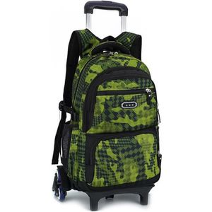Garcon Sac Dos A College Cartable Roulette 2in1 vmNnwO80