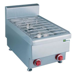 PLAQUE GAZ Plaque de cuisson gaz inox - 2 feux