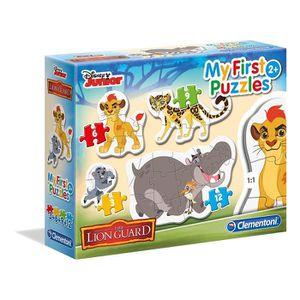 PUZZLE LE ROI LION Mon Premier Puzzle 3-6-9-12 pièces