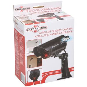 CAMÉRA FACTICE SAFE ALARM Caméra de surveillance factice Safe ala