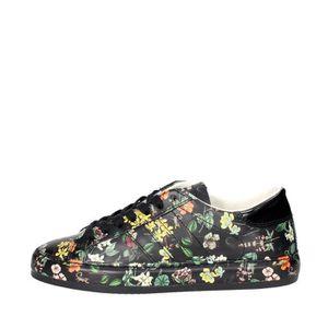 BASKET D.a.t.e. Petite Sneakers Femme Noir, 37