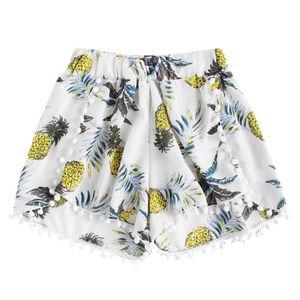 MAILLOT DE BAIN femmes ananas impression taille élastique shorts p e43f8a87c4c