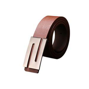 48da7ffb3bb CEINTURE ET BOUCLE Hommes Femmes boucle automatique ceinture en cuir ...