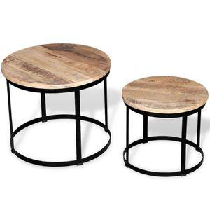 Petite table basse simple mini petit salon coin salon ...