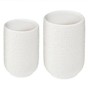VASE - SOLIFLORE Lot De 2 Vases En Céramique