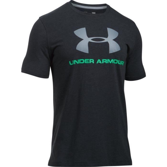 UNDER ARMOUR T-shirt Manches Courtes Homme Noir