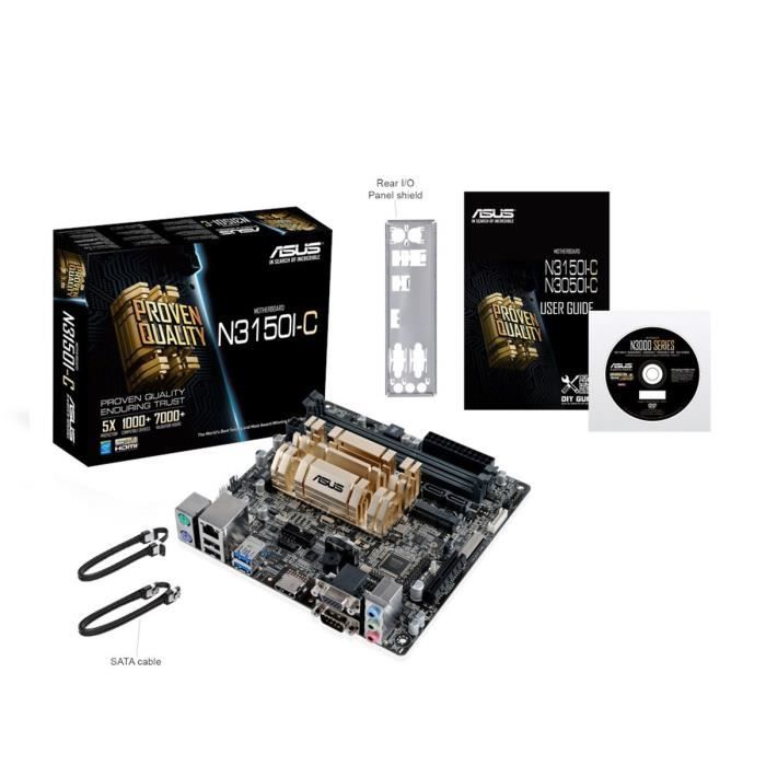 Asus N3150I-C - Carte mère mini ITX 90MB0LP0-M0EAY0