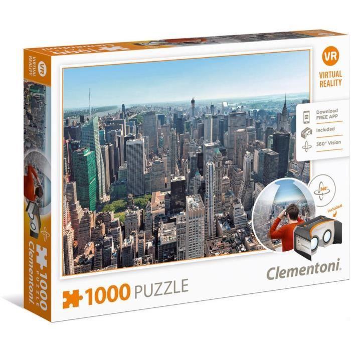 PUZZLE Réalité Virtuelle 1000 pièces -New York