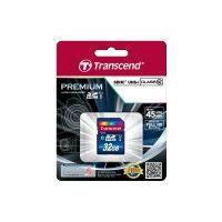 TRANSCEND Carte mémoire flash Premium - 32 Go - UHS Class 1 / Class10 - SDHC UHS-I