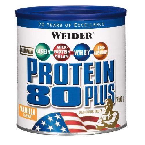 WEIDER Boîte de Protein 80+anille 750g