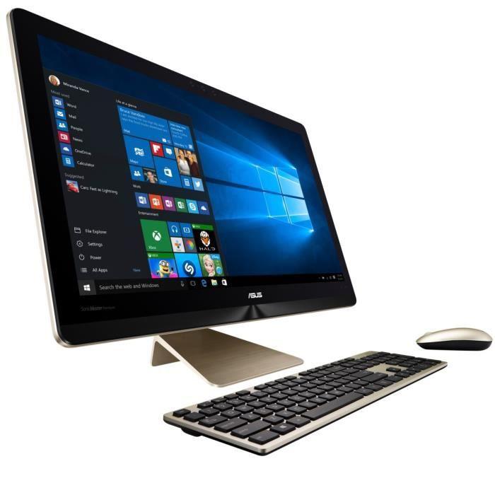 ordinateur de bureau tout en un tactile prix pas cher soldes d s le 10 janvier cdiscount. Black Bedroom Furniture Sets. Home Design Ideas