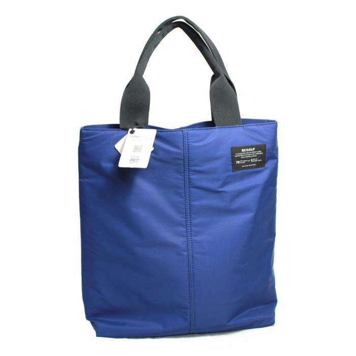 86af023a68 ECOALF sac femmes 63% de polyester recyclé à partir de bouteilles en  plastique bluette