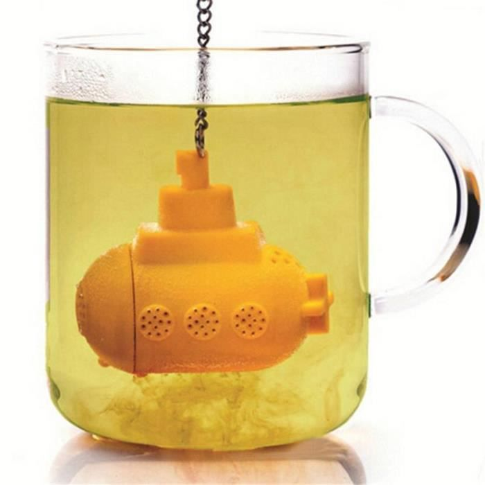 Infuseur à Thé Sous-marin Boule Passe Filtre Passoire Cuillère Tea ...
