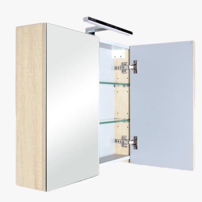 armoire de toilette led best beautiful armoire salle de bain miroir pictures with meuble salle. Black Bedroom Furniture Sets. Home Design Ideas
