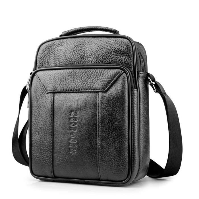 BAGZY Sac Bandouliere Homme Sacoche Homme