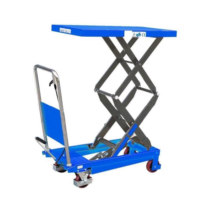fimm table l vatrice hydraulique double ciseaux 350kg achat vente chariot l vateur fimm. Black Bedroom Furniture Sets. Home Design Ideas