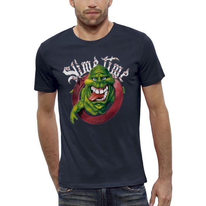 019a109dbd8da T-shirt 3D GHOSTBUSTERS SOS FANTOMES en Réalité... Bleu Marine ...