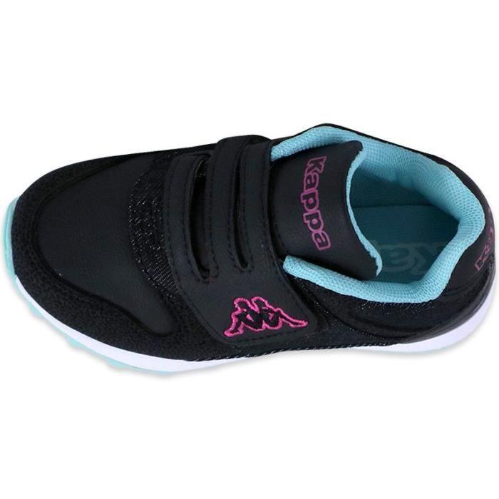 Kappa Fille Chaussures Bébé Noir Noir Chaussures Phyler wqx8znTfg