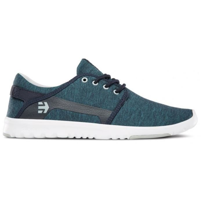 CHAUSSURES ETNIES SCOUT NAVY GREY WHITE skateshoes