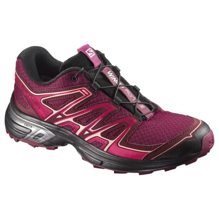Rouge Chaussure Taille Trail 2 42 Wings Flyte Salomon Femme W qxgzRWw
