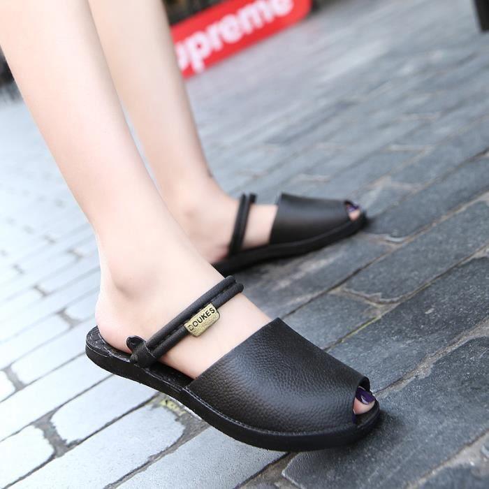chaussures Sandales femme Tongs été Pantoufles O0x4wdqO