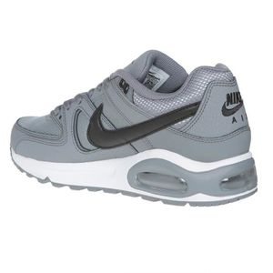 the best attitude 83e7e 584a1 ... BASKET NIKE Baskets Air max Command Leather - Homme - Gri ...