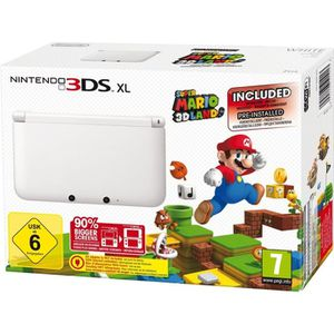 CONSOLE DS LITE - DSI NINTENDO 3DS XL BLANCHE + SUPER MARIO 3D LAND