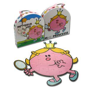 PUZZLE MONSIEUR MADAME - Puzzle forme Mme Princesse
