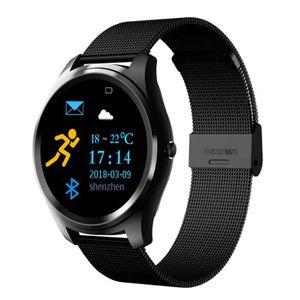 MONTRE CONNECTÉE AMORUS Montre Connectée Homme, Bluetooth 4.0 Smart