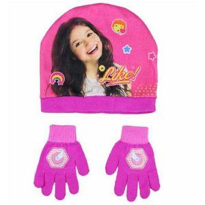 BONNET - CAGOULE SOY LUNA bonnet et gants fille jusqu'à 6 ans rose