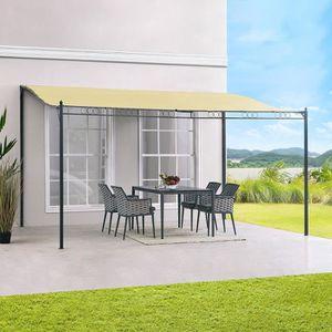 tonnelle adosse 4x4 tonnelle with tonnelle adosse 4x4. Black Bedroom Furniture Sets. Home Design Ideas