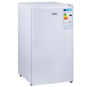 RÉFRIGÉRATEUR CLASSIQUE Réfrigérateur Table Top Intégrable 91 L - Mini-bar