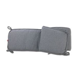 tour de lit gris b b achat vente tour de lit gris b b pas cher cdiscount. Black Bedroom Furniture Sets. Home Design Ideas