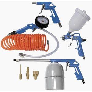 COMPRESSEUR Scheppach - Kit de 8 accessoires pour compresseur