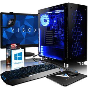 UNITÉ CENTRALE + ÉCRAN VIBOX Nebula GS850T-67 PC Gamer Ordinateur avec Je
