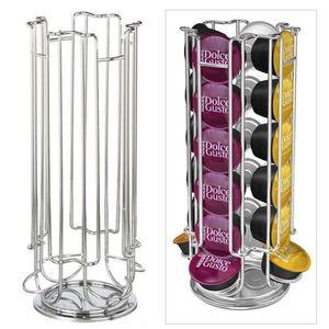 LOT APPAREIL PETIT DEJ VINUS®capsules rotatif pouvant contenir 24 capsule