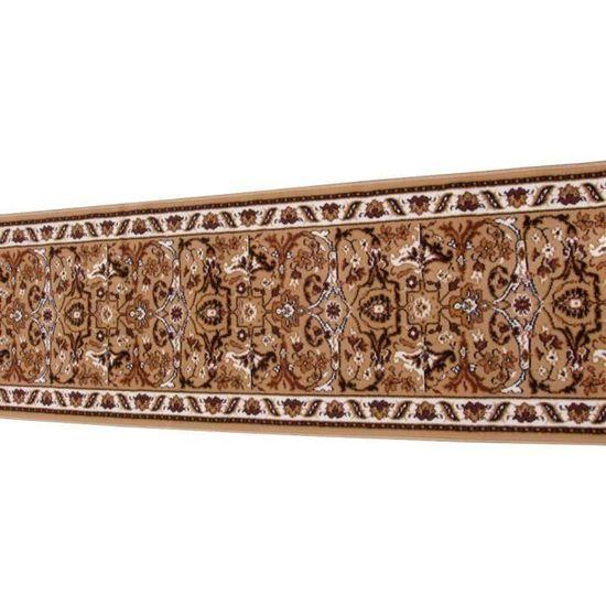 tapis de couloir tapis descalier et de couloirbeige marron 1195 - Tapis Couloir