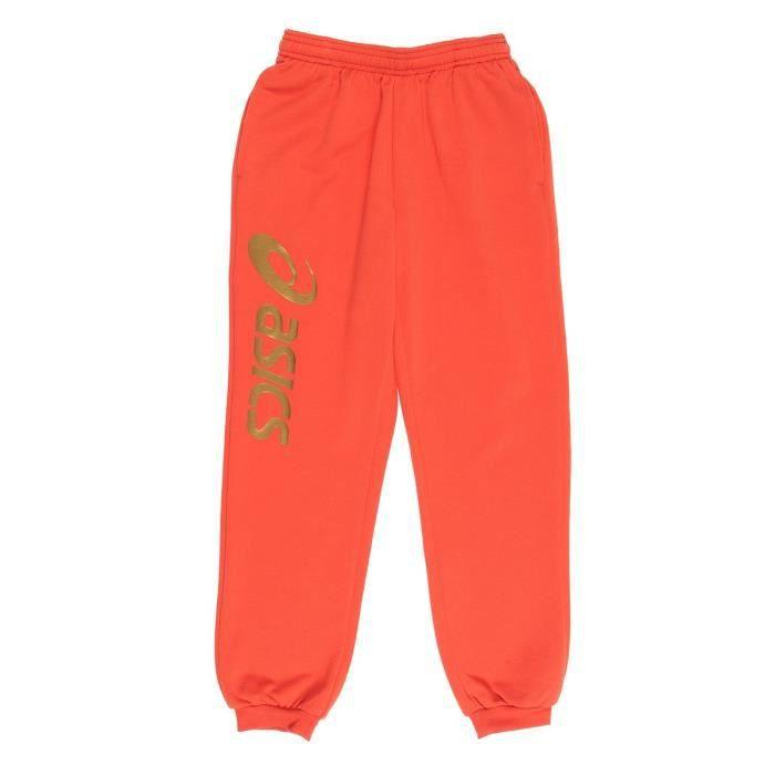 ASICS Pantalon Sigma Enfant Mixte - Orange