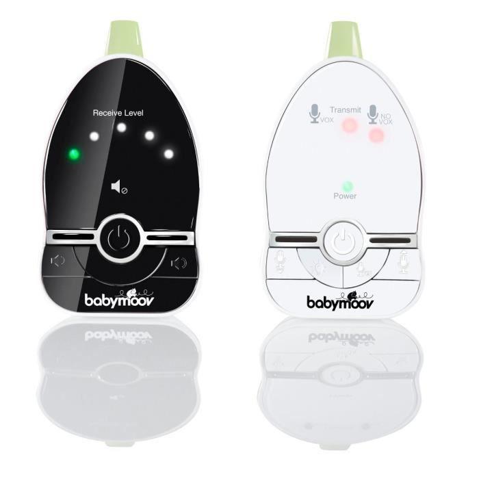 BABYMOOV Ecoute-bébé Babyphone Easy Care + fonction veilleuse