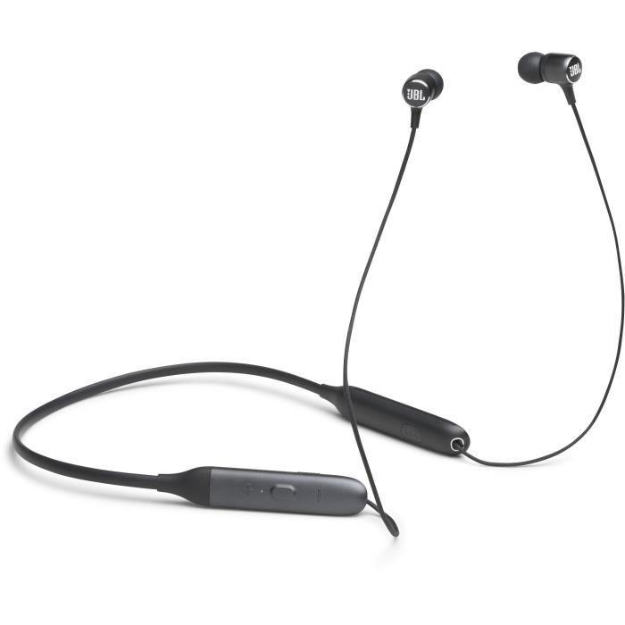 JBL Live 220BT Écouteurs tour de cou Bluetooth - Assistant vocal intégré - Noir