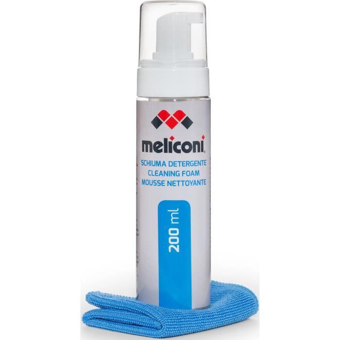 MELICONI C-200 FOAM Mousse nettoyante 200mL avec chiffon microfibre
